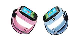 儿童智能手表带GPS定位